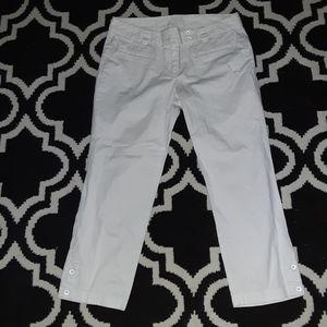 Ann Taylor cropped pants size 4